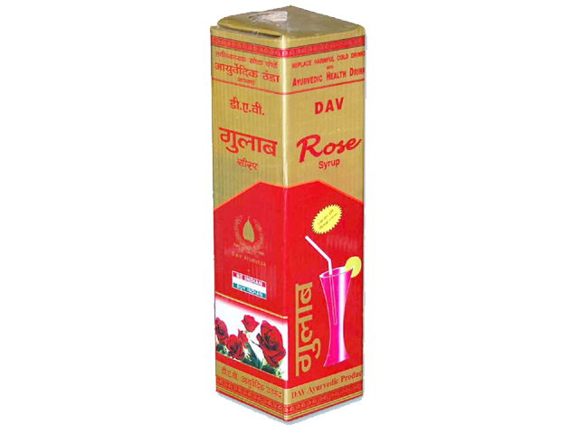 ROSE SYRUP - AYURVEDIC COLD DRINK